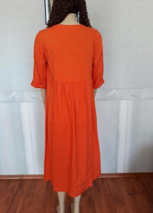 Платье лен2 фото
