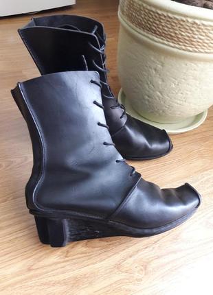 Ультрастильные кожаные ботинки,ботальёны,туфли  trippen.39р.