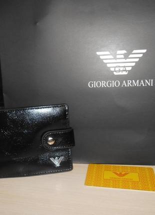 Мужской кошелек, портмоне, бумажник, кожа, италия 7111