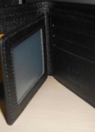 Мужской кошелек, портмоне, бумажник, кожа, италия 9988