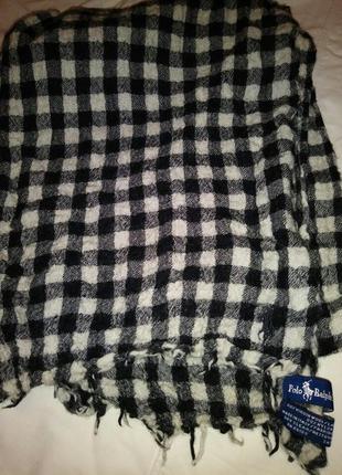 Ralph lauren шарф шерсть оригинал