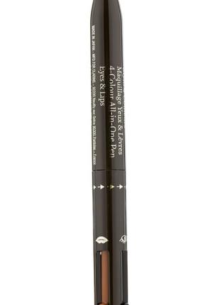 Четырехцветный карандаш для глаз и губ 4 в 1 clarins 4-colour all-in-one pen eyes & lips