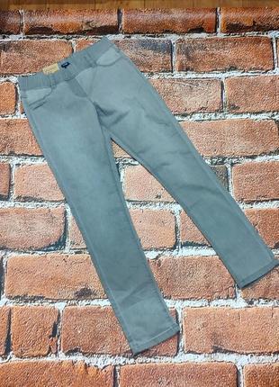 Серые джинсовые джеггинсы на девочку 12 лет