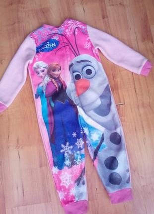 Слип,пижама фрозен на 3-4 годика