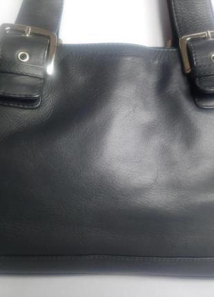 Хорошая кожаная сумка visconti (италия)
