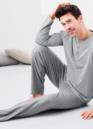 Пижама из органического хлопка тсм tchibo германия,с бирками, не сток,размер хл