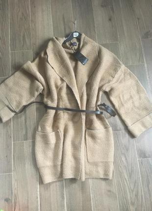 Пальто вязаное кофта оверсайз германия