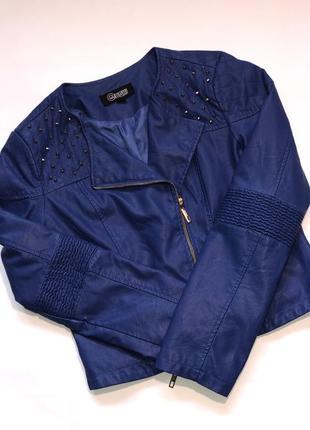 cc189310887 Женские голубые куртки косухи 2019 - купить недорого вещи в интернет ...