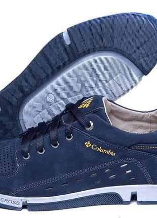 Мужские кроссовки-туфли(чоловічі кроссівки-туфлі)columbia