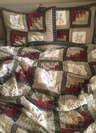 Комплект постельного белья печворк, 2-х спальное одеяло + наволочки