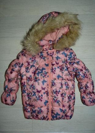 Очаровательная куртка lupilu 2-3 года