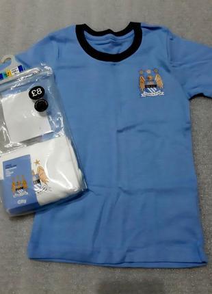 Шикарный набор из 2 футболочек английского футбольного клуба мальчикам из англии