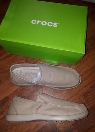 Макасины crocs m12