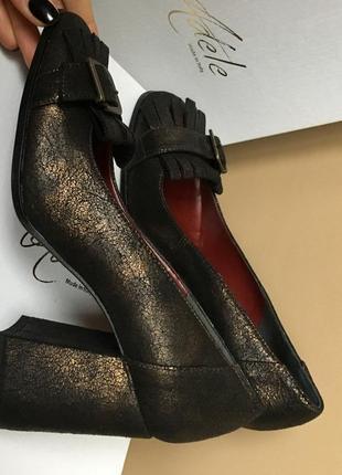 Туфли натуральная кожа италия 🇮🇹