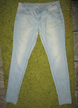 Skinni*летние джинсики,пот-42-44см