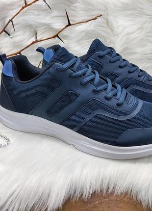 Легкие и комфортные кроссовки f&f ( 46 размер )