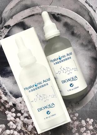 Сыворотка для лица с гиалуроновой кислотой bioaqua