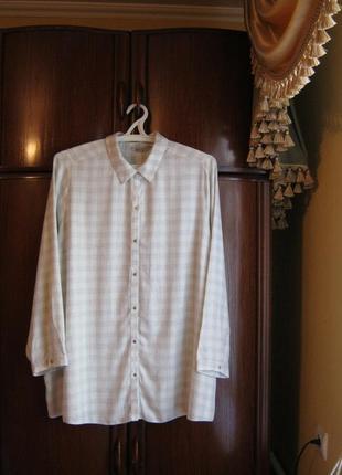 Рубашка george, 100% вискоза, размер 24/52, новая с этикеткой