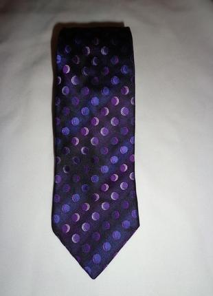 Next мужской галстук шёлк новый италия оригинал