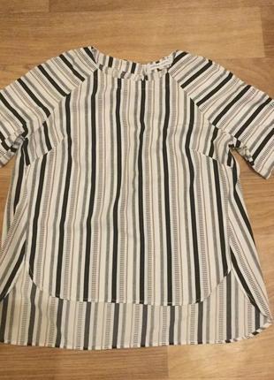 Блуза в полоску, р. 46-48