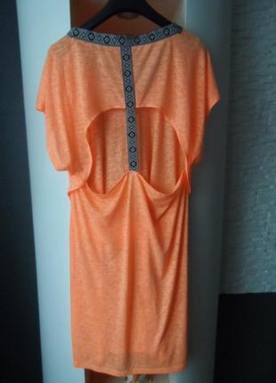 Яркое пляжное платье,50-52р