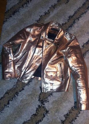 M-ka zara (оригинал) косуха, кожаная куртка.