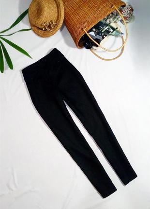 Узкие брюки из натурального льна (брюки сигареты)