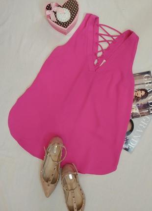 Актуальная блузка с шнуровкой на спине/блуза/майка/кофточка