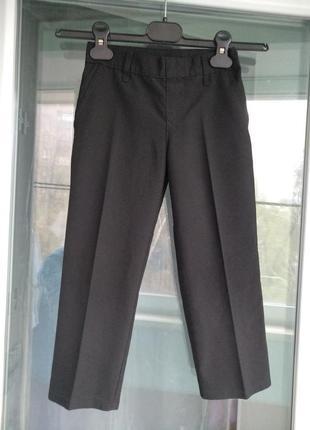 """Брюки """"m&s"""" р.104 штаны классика черные школьные в садик мальчику 3-4года"""