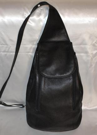 Кожаный рюкзак em-el