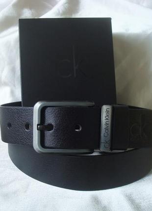 Модный черный кожаный ремень3 фото