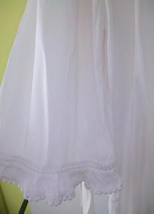 Рубашка свободного кроя  с вышивкой от nutmeg4 фото