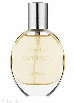 Туалетная вода для женщин aromania mango (faberlic)2 фото