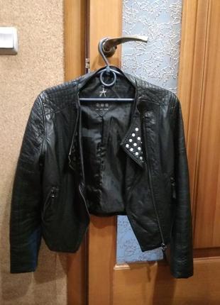 Куртка кожа atmosphere1 фото