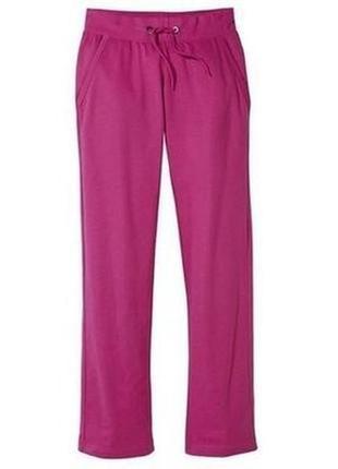 Яркие, трикотажные женские штаны от crivit sports размер м 40/42 евро (полномерные)