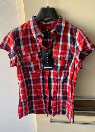 Сорочка з накладними кишенями