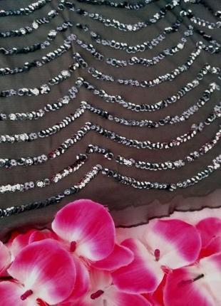 Красивое нарядное платье в пайетках размер (42-44)3 фото