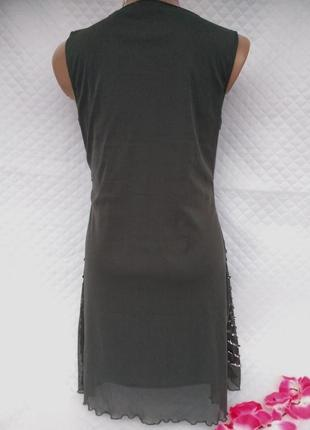 Красивое нарядное платье в пайетках размер (42-44)4 фото