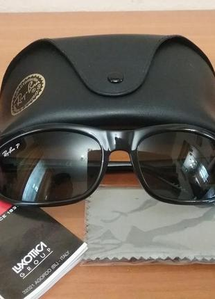 Очки унисекс ray ban polarized model rb 4004 601/9a