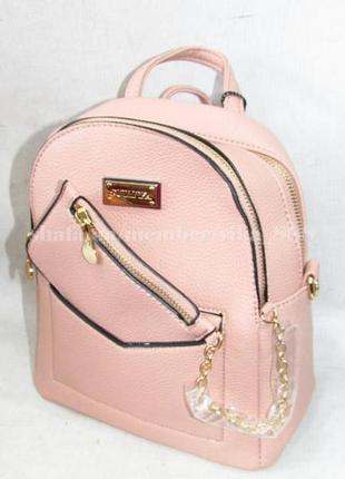 Рюкзак в городском стиле на два отделения 173 розовый