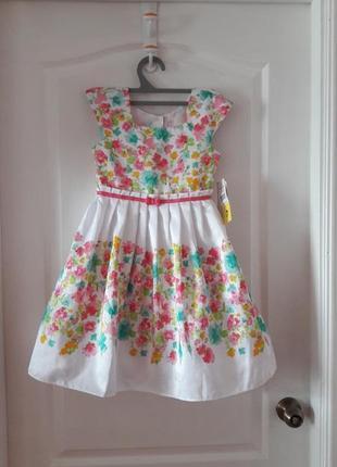 Нарядное пышное платье на  рост 116-128