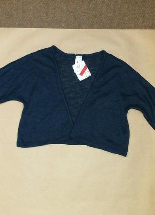 Болеро темно-синего цвета, на рост 170