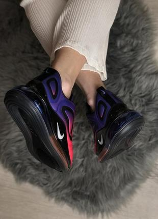 Шикарные кроссовки nike air max 720 pink violet4 фото