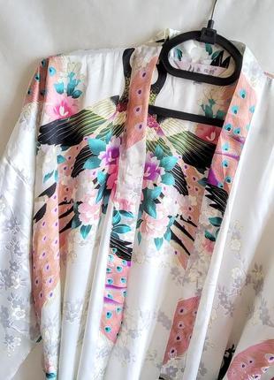 Халат пеньюар кимоно