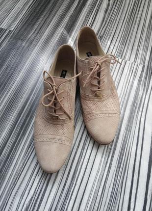 Туфли оксфорды броги
