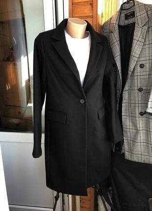 Обалденное базовое пальто миди oversize new look (оплачу доставку)