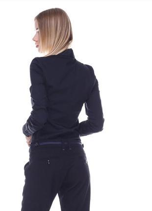 Чёрная рубашка-боди women's fashion
