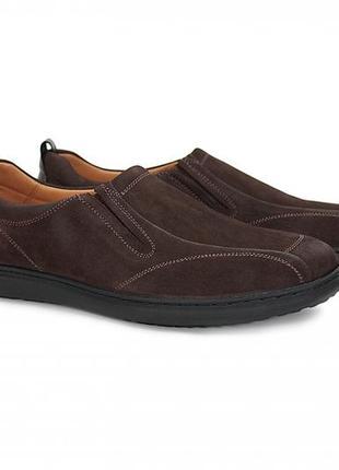 Натуральные туфли из нубука наличии все размеры