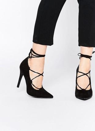 Туфли лодочки на шнуровке steve madden