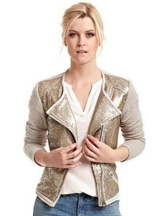 Оригинальный пиджак с пайетками  от тсм чибо (германия). оригинал!